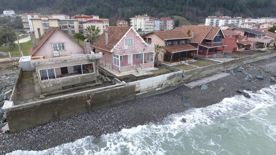 Karadeniz'de korkutan görüntü!