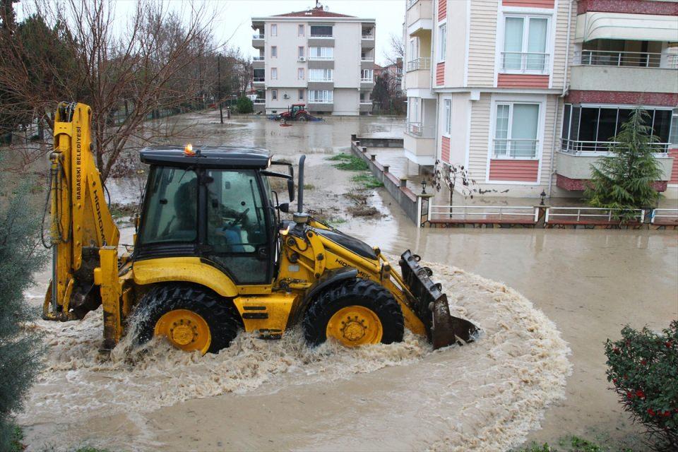 Kırklareli sular altında!