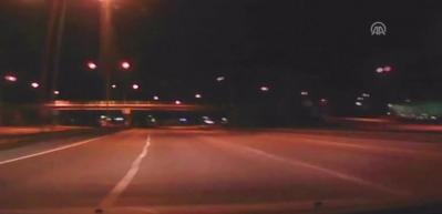 1 kişinin feci şekilde can verdiği kaza kameralara böyle yansıdı