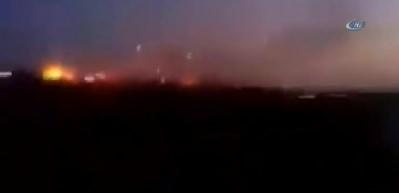 Afrin'de sıcak çatışma anları böyle görüntülendi
