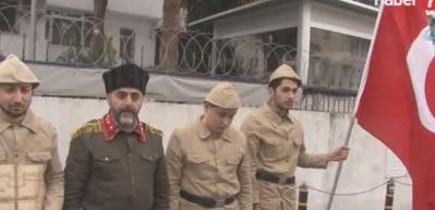 Afrin'e gitmek için sıraya girdiler!