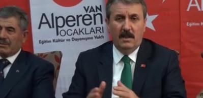 Destici: PKK ile yanlış mücadele edildiği dönemler oldu