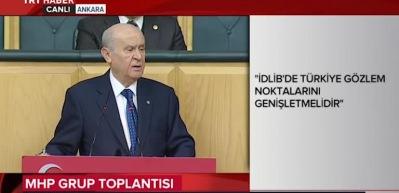 Devlet Bahçeli'den CHP'ye tokat gibi sözler