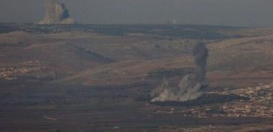 F-16'lar bombalamaya başladı!