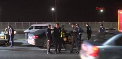 Haliç Köprüsü'nde trafik kazası: 2 yaralı
