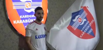 Kardemir Karabükspor'a gurbetçi orta saha: Ahmet Karadayı