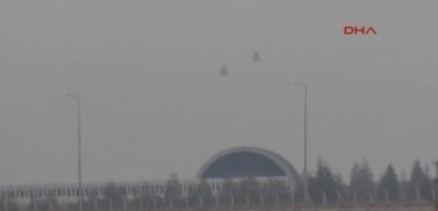 Konya 3. Ana Jet Üssü'nden savaş uçakları kalktı