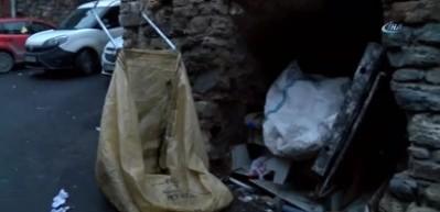 Madde bağımlısı şahıs tarihi surlarda ölü bulundu