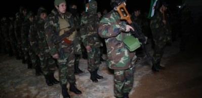ÖSO'dan Türk bayraklı Afrin operasyonu hazırlığı