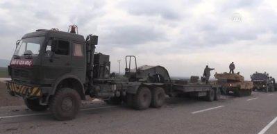 Sınır birliklerine takviye sürüyor