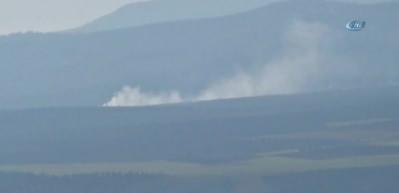 Topçu birlikleri Afrin'deki PYD mevzilerini vurdu