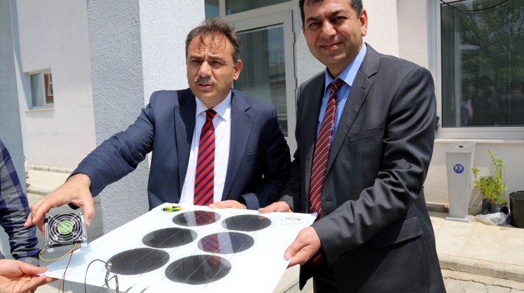 Abant İzzet Baysal Üniversitesinde güneş pili ve paneli prototipi üretildi