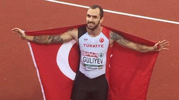 Milli atlet Guliyev gümüşü kaptı