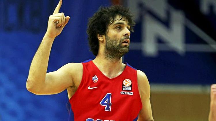 Milos Teodosic'ten kariyer rekoru!
