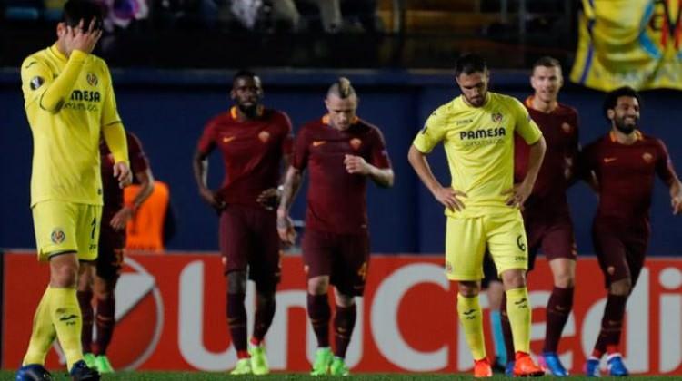 Roma Villarreal'i gole boğdu
