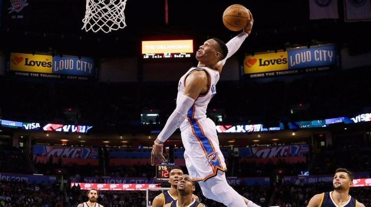 Westbrook, efsane ismi geride bıraktı!
