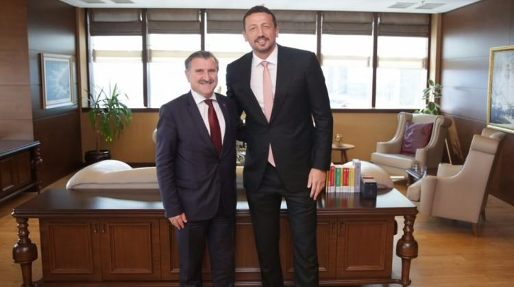 Türkoğlu'ndan Bakan Bak'a ziyaret