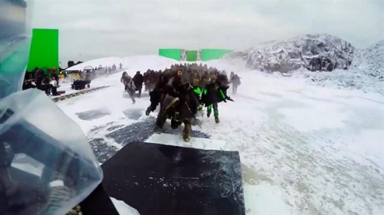 Game Of Thrones'un kamera arkası görüntüleri