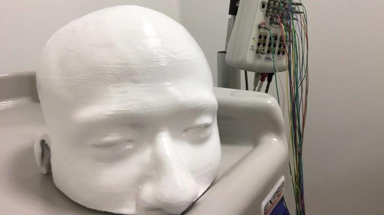3 boyutlu yazıcı ile kafatası modeli bastılar