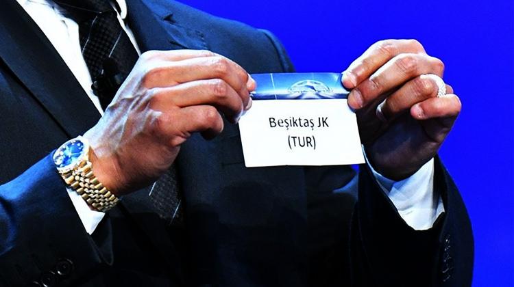 Beşiktaş'a kura çekimi öncesi müjdeli haber!