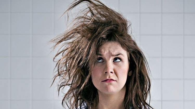 Kış aylarında saç bakımı nasıl yapılır? Saç maskesi için...