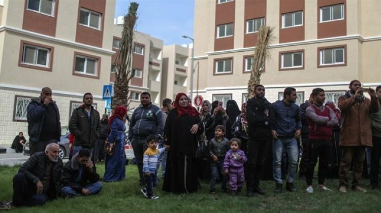 TİKA'dan Filistinlilere 320 konut