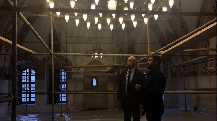 Anadolu'nun ilk camisine tadilat yapılıyor