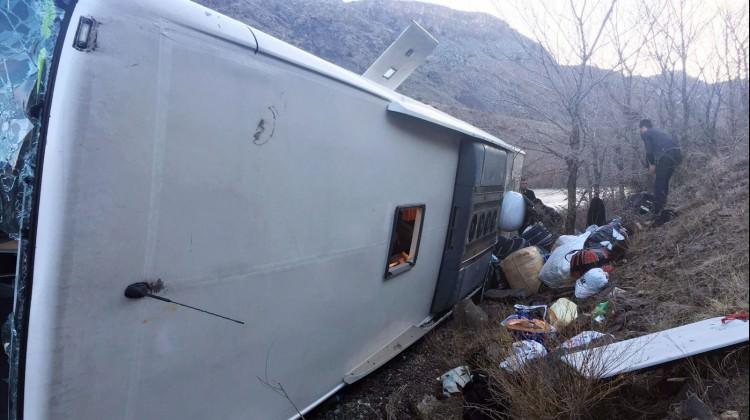 Sarıkamış'ta trafik kazası: 9 yaralı