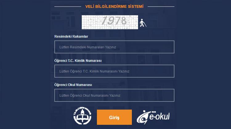 2018 E-Okul giriş sayfası! 3 yazılı sınav sonuçları ve karne puanı!