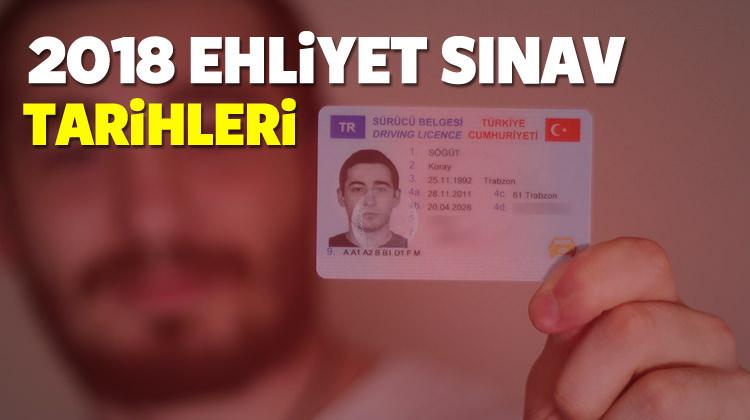 2018 Ehliyet sınavı ne zaman? MEB - Kesin tarihler belli oldu...