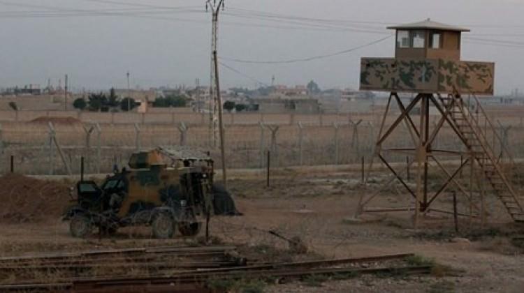 Afrin'den Hatay Hudut Karakoluna taciz ateşi