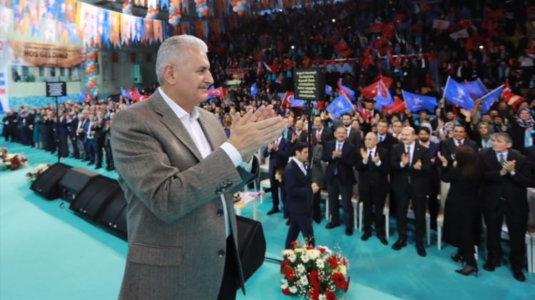 Başbakan Yıldırım Aksaray'da konuştu