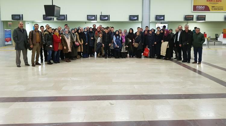 Atakum Anadolu İHL öğrencileri İngiltere'de