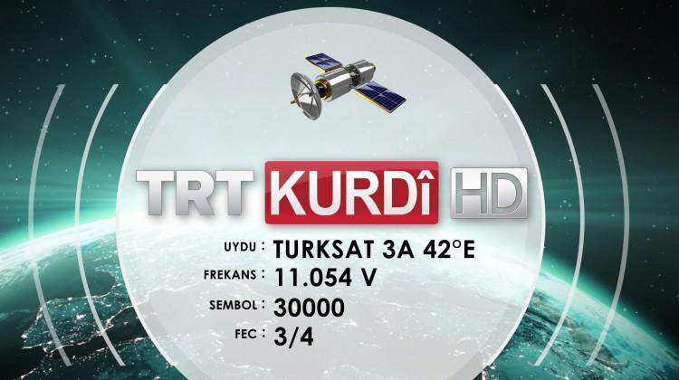 """TRT KURDİ artık """"HD"""" yayında"""