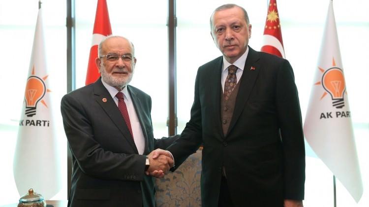 SP ile kritik görüşme...Erdoğan talimat verdi