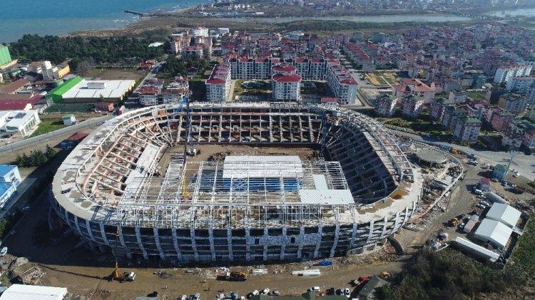 Yeni Ordu Stadyumu böyle görüntülendi