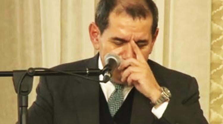 Dursun Özbek gözyaşlarıyla açıkladı!