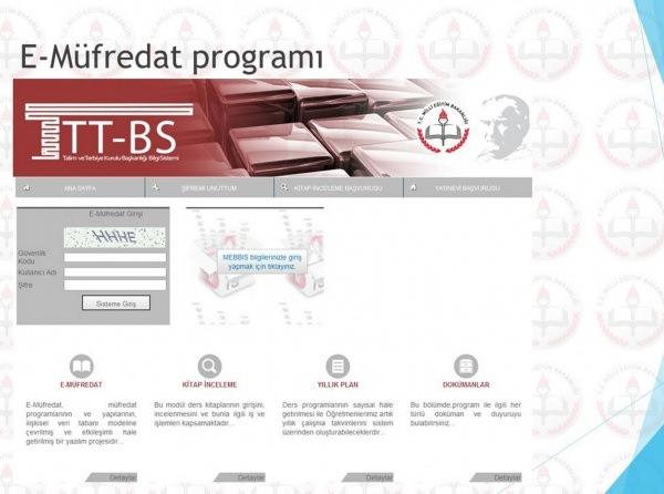e-Müfredat giriş sayfası açıldı mı? (MEB) yıllık plan modülü...