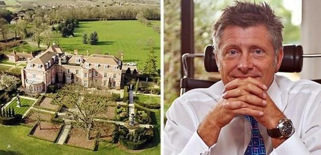 Beckham çiftinin sarayı satıldı