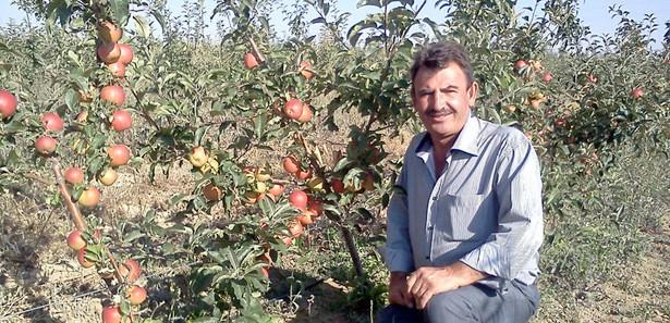 Hobi olarak başladı, 5 bin bodur elma ağacı oldu