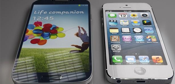 iPhone 5S ve Samsung Galaxy S4 karşılaştırması