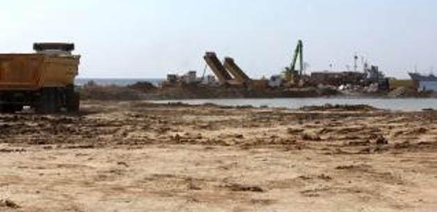 Yenikapı miting alanı inşaatında son durum