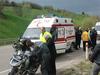 Motorlu grup Sinop'ta kaza yaptı: 2 yaralı