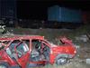 Arızalanan otomobile tren çarptı: 1 ölü