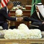 Kral Selman Obama ile bir araya geldi
