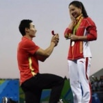 Rio'da sürpriz evlilik teklifi!
