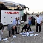 TEDES yüzünden yolcuları indirip eylem yaptı