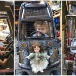 İşte filmleri aratmayan çılgın çocuk arabaları!