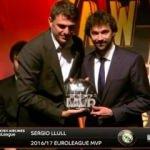 Euroleague'in en iyileri ödüllerini aldı