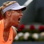 Sharapova'nın hevesi kursağında kaldı